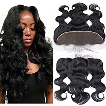 Brazilian Frontal Full Lace Frontal Closure 13x4 With Baby Hair Body Wave Brazilian Virgin Human Hair
