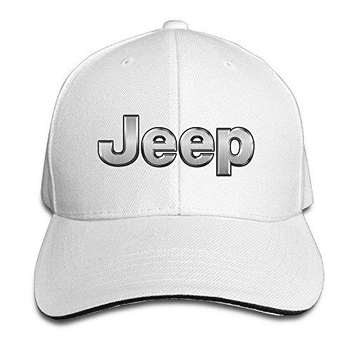 MaNeg Jeep Logo Sandwich Peaked Hat & - Mar Costa Del Wholesale