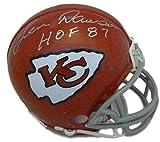 Signed Len Dawson Mini Helmet - 11015 Hof 87 - JSA Certified - Autographed NFL Mini Helmets