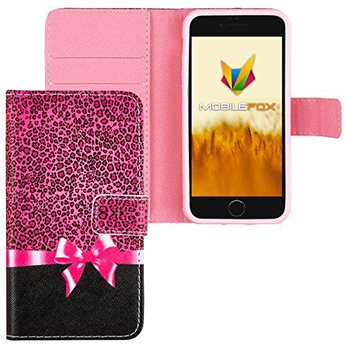 Mobilefox Schleife Flip Case Handytasche Apple iPhone 7