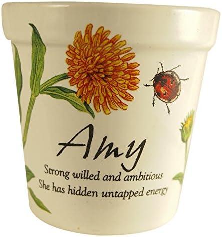 Personlaized Candle Pots PCP Amy