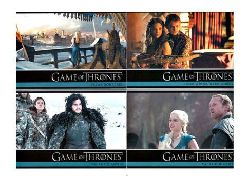 2014 Game of Thrones Season 3 Complete Base Set Cards 1-98 ()