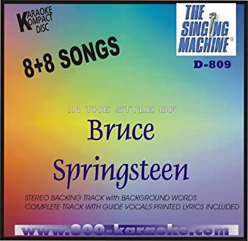 SINGING MACHINE BRUCE SPRINGSTEEN - Bruce Springsteen