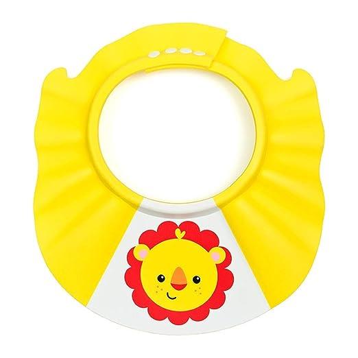 HEMFV Gorra de baño, Visera con Gorro de baño para niños ...