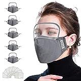 vividen 5 PCS Reusable Breathable Face Bandanas