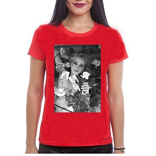 Amber Heard shirts for Womens XXL Red (Amber Ladies T-shirt)