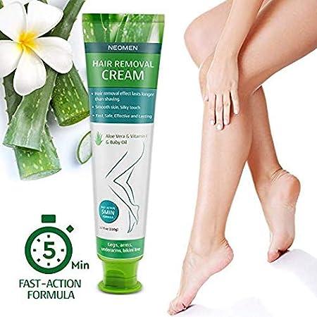 Amazon.com: Crema de eliminación de pelo – crema depilatoria ...