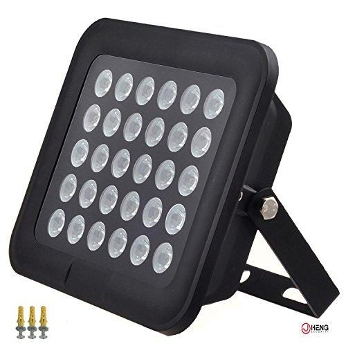 JC 260ft IR Illuminator Wide Angle 90° Infrared Light for Security Camera Black (Illuminator Cctv)