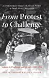 img - for From Protest to Challenge, Volume 6 by Gail M. Gerhart (2010-04-19) book / textbook / text book
