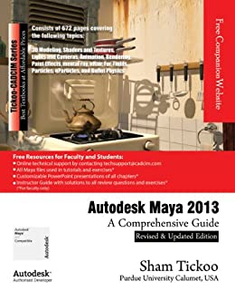 amazon com autodesk maya 2013 a comprehensive guide ebook prof rh amazon com Maya 2013 Product Key Maya 2013 Plugins