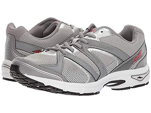 Avia Men's Avi-Execute-II Running Shoe, Chrome Silver/Frost Grey/Black, 11 M US