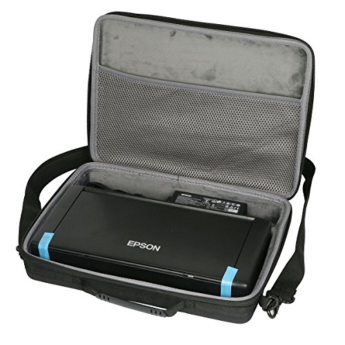 Co2Crea Hard Travel Case Bag for Epson Workforce WF-100 Wireless Mobile Printer (Only Case) (Compact Carrying Printer Case)