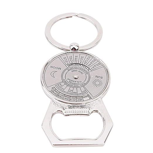 Ogquaton Abrelatas de botella del llavero del anillo del ...