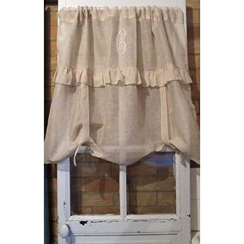 Linen Curtains Amazon Com: Amazon.com: Personalized Custom Curtain Sheer Linen Tie Up