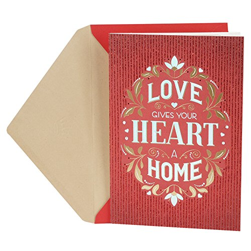 Hallmark Valentine's Day Card for Significant Other (Love Heart Home)]()