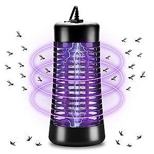 AUERVO Zanzariera Elettrica, Lampada Antizanzare Elettrica Interno con Luce UV e Cassetto Raccogli, Elettrico Trappola… 8 spesavip