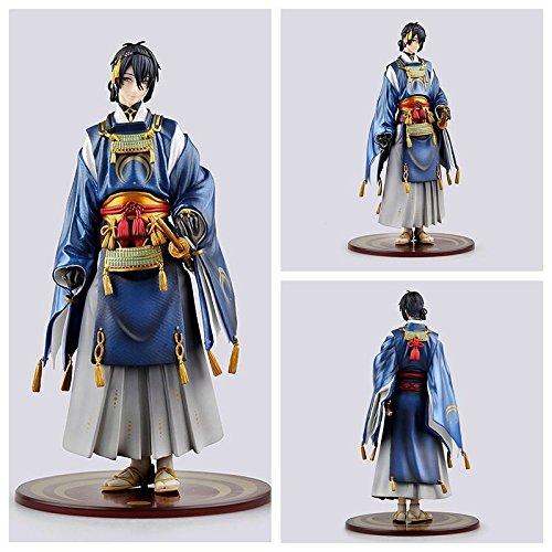 TONGROU Anime Touken Ranbu Online Mikazuki Munechika Samurai Katana Figure New In Box
