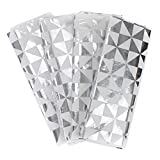 Hallmark Signature Tissue Paper (Silver Foil with Geometric Design)
