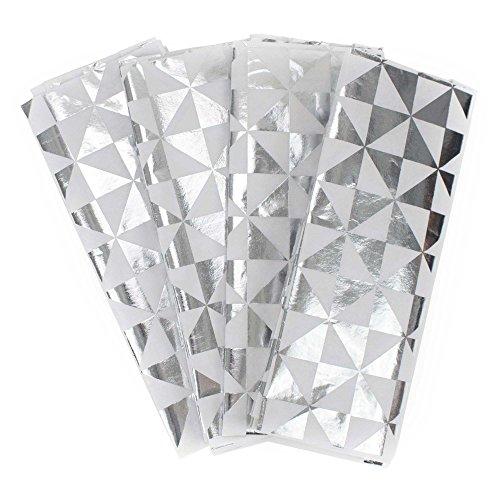 Hallmark Signature Tissue Paper (Silver Foil with Geometric Design)