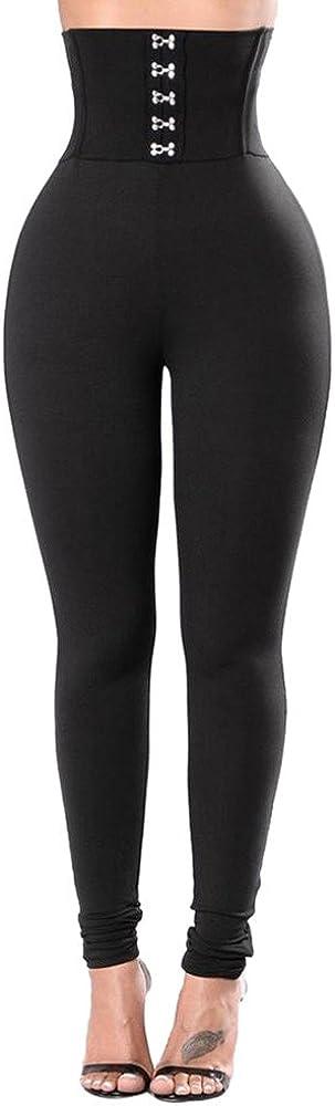 Xinantime Pantaloni di Yoga Donne Pantaloncini Sportivi da Donna con Vita Alta Pantaloni Lunghi Leggings Moda da Donna Allenamento Fitness Sports Gym Running Yoga Pilates Athletic Jogging Pants