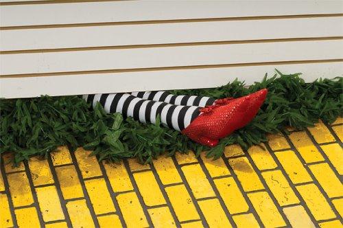 Wizard of Oz 18-Inch Wicked Witch Legs Prop - Witch Wizard Of Oz