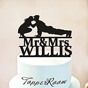 amazon com wedding cake topper military wedding cake topper