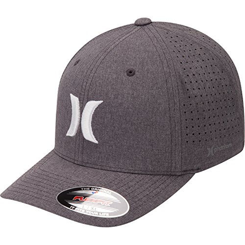 Hurley Men's Phantom 4.0 Hat, Black Heather (032), s/m