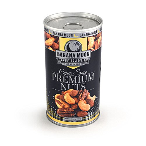 Deluxe Mixed Nuts, Cajun Spice, Banana Moon Luxury Collection 48ct/4.0oz by In-Room Plus, Inc.