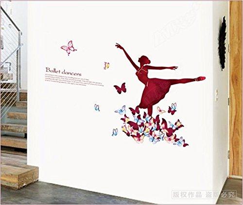 Ghaif Children dancing girls schools dance room primary school classroom decor wall art dance 13481CM