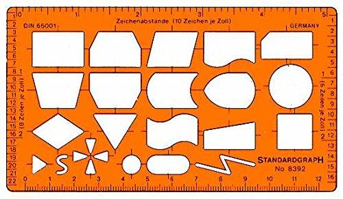 Graphoplex Organigraphe Transparent Orange