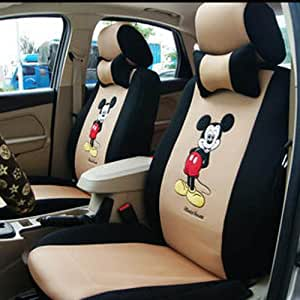 18pcs Mickey Mouse New Arrive Universal Car Seat Covers