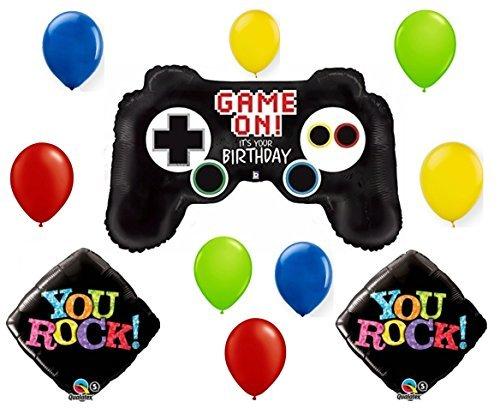 Gamer Kid Birthday Balloon Bouquet by Anagram (Game Anagram)