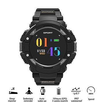 QUARKJK Hombres Outdoor Sports GPS brújula Smart Watch ...