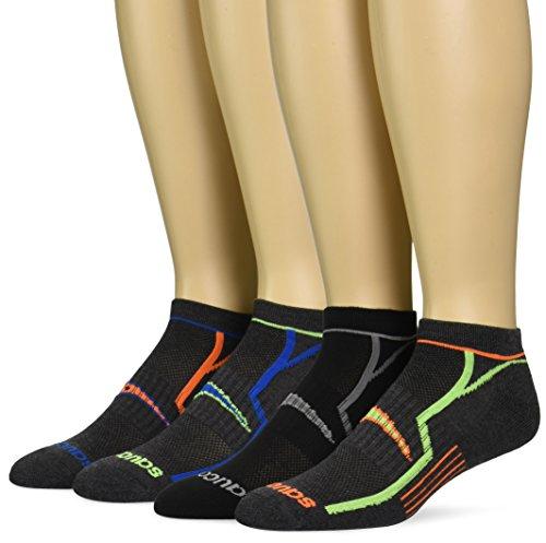 Saucony Men's 6 Pack Performance No-Show Socks