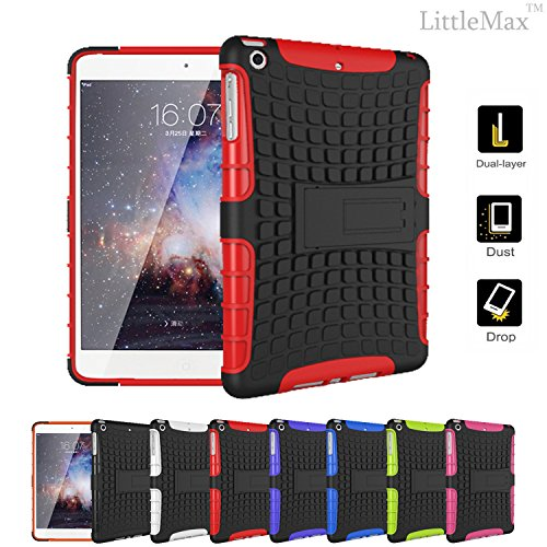 iPad Mini Case,LittleMax(TM) [Kickstand] Defender Rugged Case for iPad Mini/Mini 2/Mini 3 [Anti-slip Armor] Protective Back Case Cover