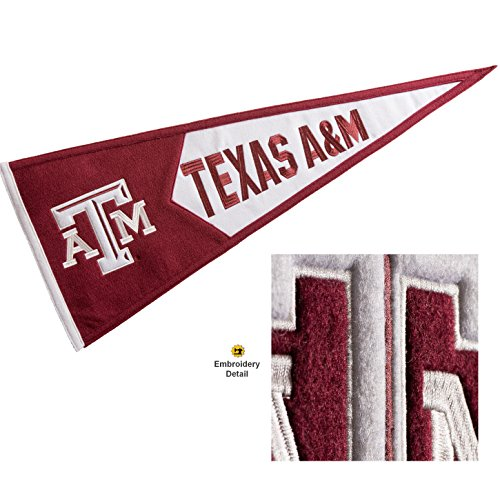 Winning Streak Texas A&M Aggies Wool Embroidered and Sewn Pennant