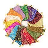 Honbay 16PCS Silk Brocade Drawstring Jewelry