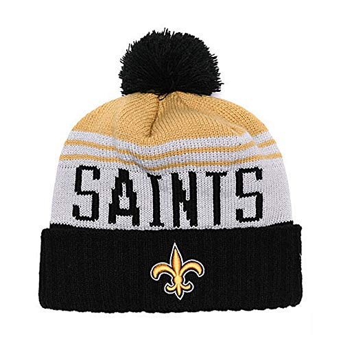New Orleans Saints Fans Hats Winter Knit Cuffed Beanie Sports Hats Fashion Toque Cap for Gift
