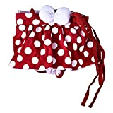 Yunt Fashionable Cotton Physiological Menstrual Panties Underwear Dot Sanitary Pantie Dog Bitch Diaper for Dogs & Cats L