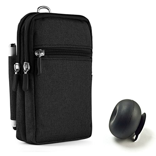 Black Electronics Universal Organizer Bag Pouch Carrying Bag
