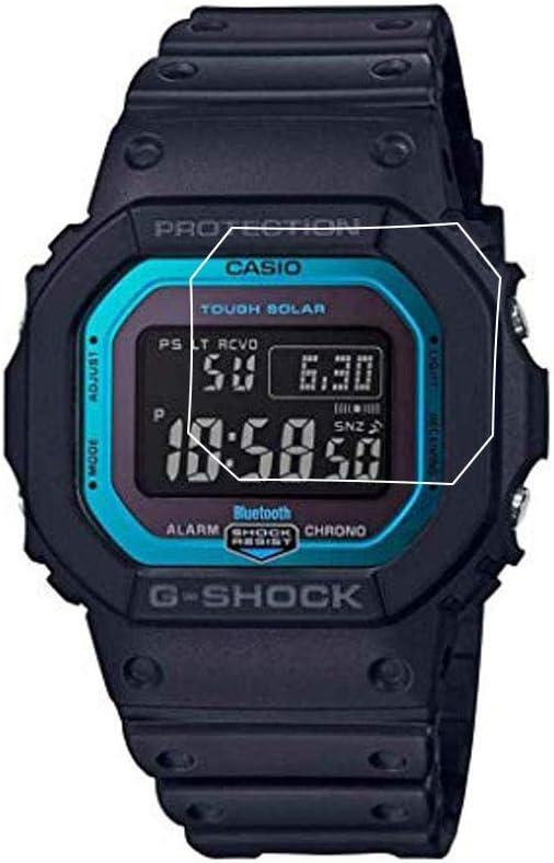 Protector de pantalla para reloj Casio GW-B5600 (3 unidades)