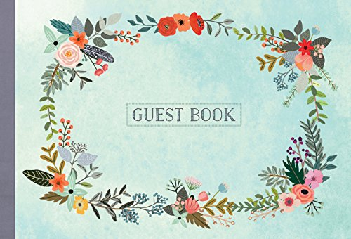 Guest Book: Illustrated Nature Edition (Guest Book)