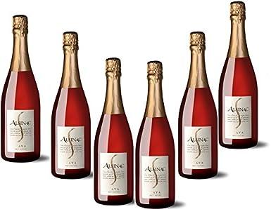 6 botellas de Cava Artesanal Brut Nature Rose - Caja con 6 Botellas: Amazon.es: Alimentación y bebidas