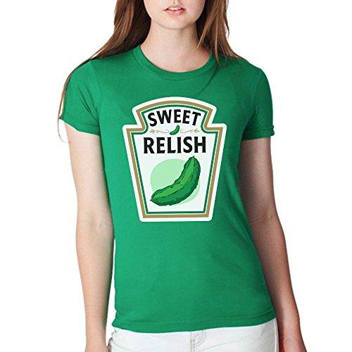 Sweet Relish Mustard Ketchup Relish Lover Halloween Costume Handmade T-Shirt Hoodie Long Sleeve Tank Top Sweatshirt