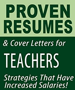 proven resumes cover letters for teachers