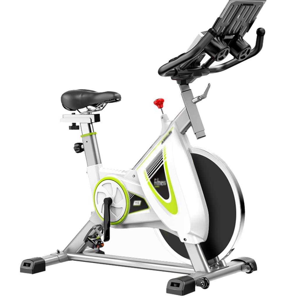 Zhiniu Innenfahrrad, stummer Haushalts-Trainings-Fahrrad-Eignungs-Ausrüstung Verlieren Gewicht-Pedal-aerobe übungs-spinnendes Fahrrad 113  56  119CM