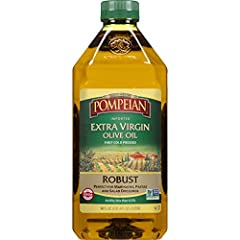 Pompeian has been bringing olive oil to the American table for over 100 years. Pompeian Olive Oils are perfect for sautéing, grilling, baking, frying, roasting and in salads, soups, sauces and marinades. Naturally gluten free and non-allergenic, Pomp...
