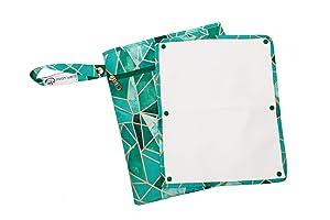 Sarah Wells Pumparoo Wet/Dry Bag for Breast Pump Parts (Mosaic)
