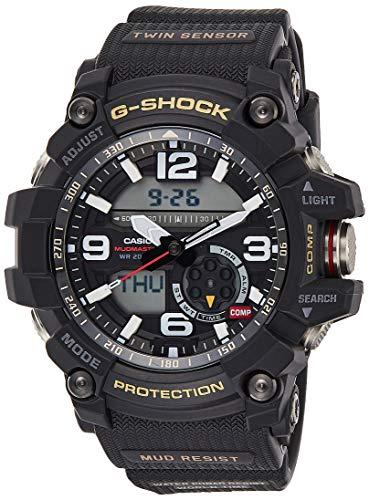 Casio G-Shock Mudmaster Twin Sensor Mens' Sports Watch (Black) (1000 Watch Shock G)
