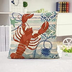 51H-Od0ZIVL._SS300_ 100+ Coastal Throw Pillows & Beach Throw Pillows